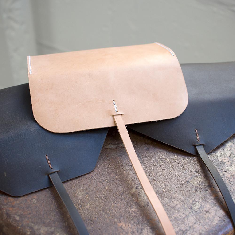 Make Simple Gusseted Leather Clutch Pdf Template