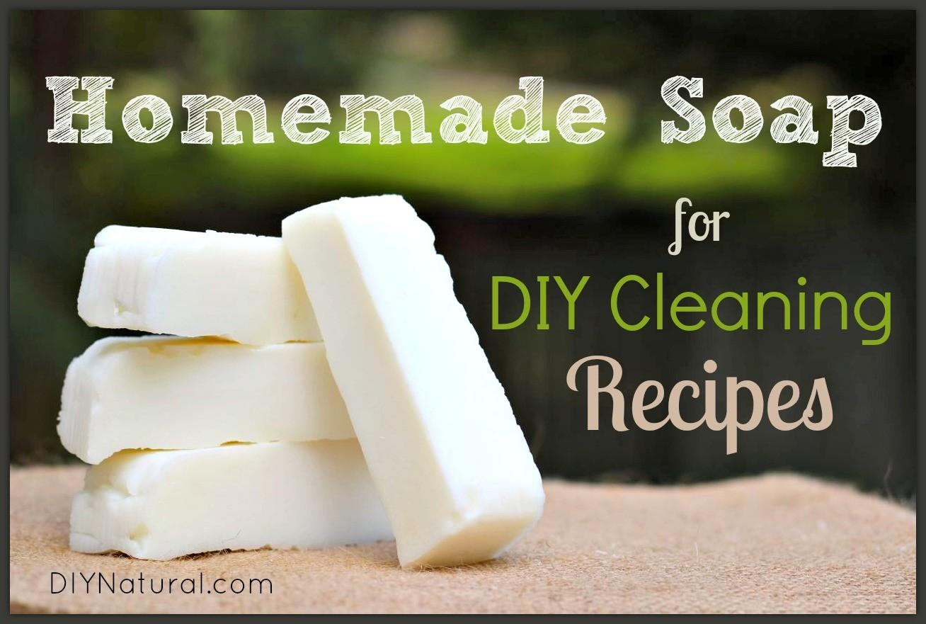 Make Soap Natural Homemade Diy Cleaning