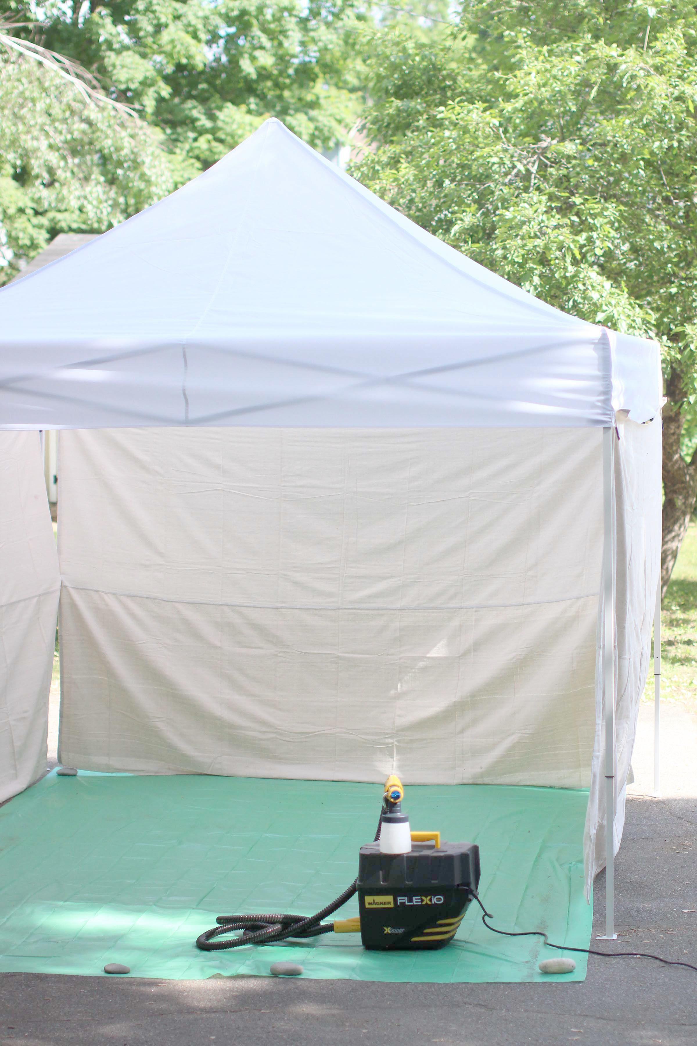 Image Of Diy Spray Painting Tent You Ll Love Photos Decoratorist