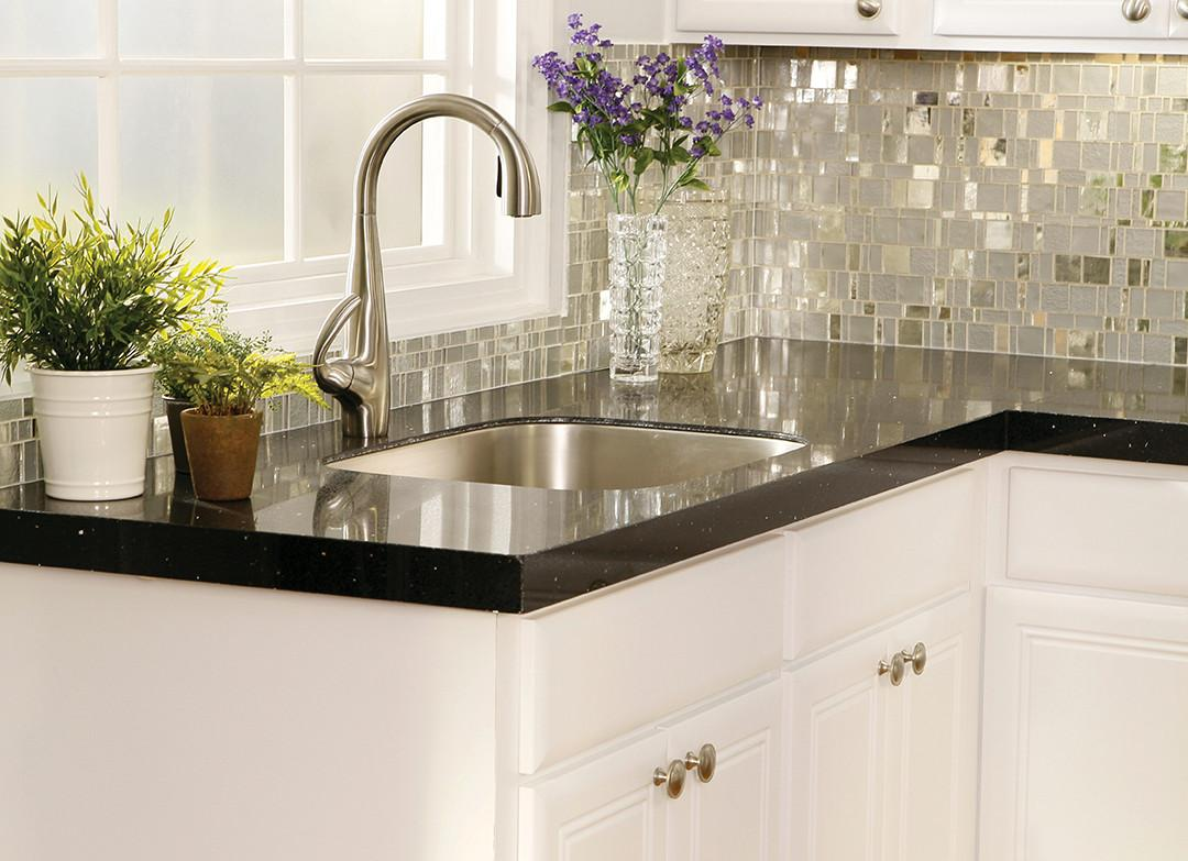 Make Statement Trendy Mosaic Tile Kitchen