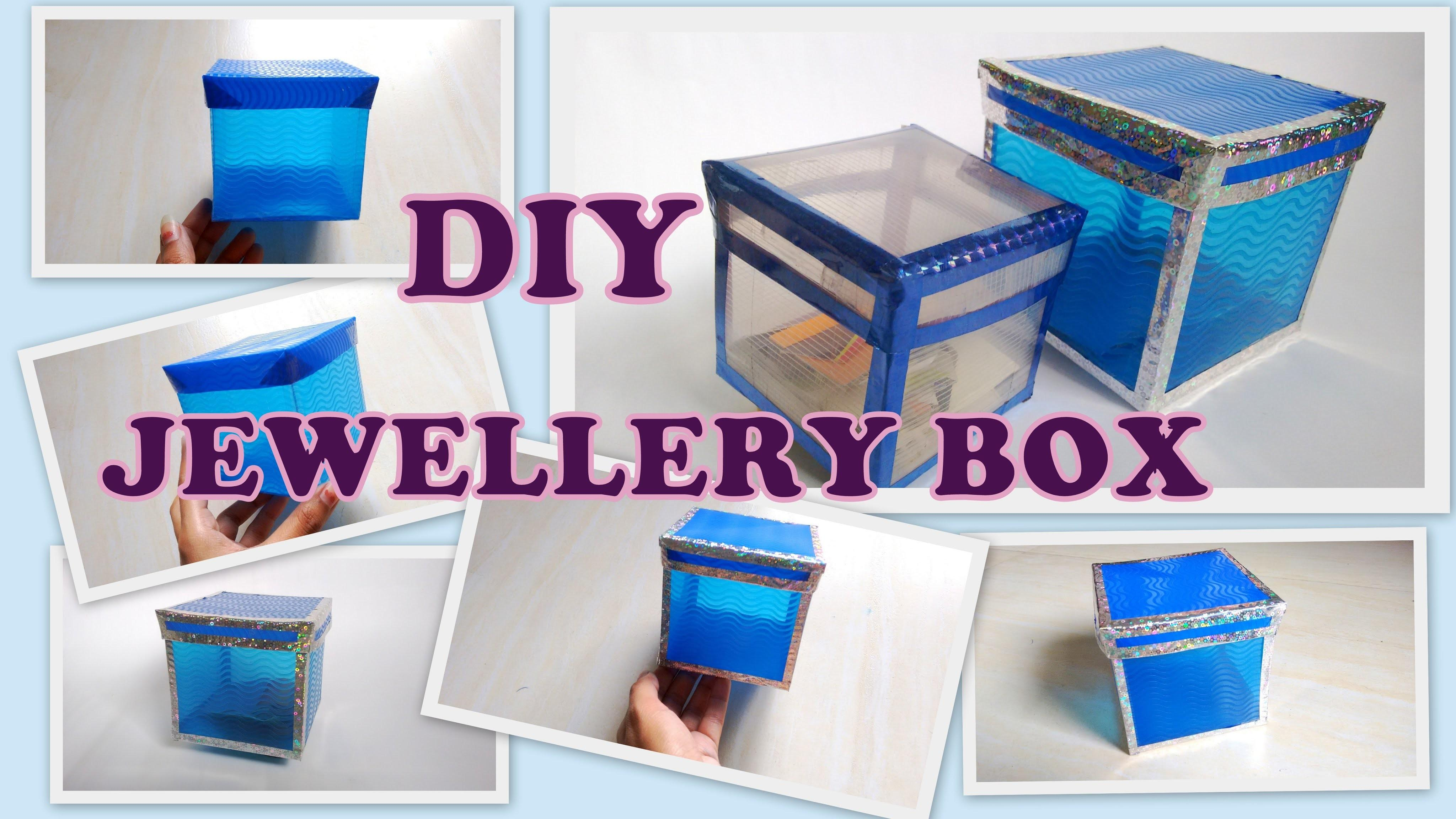 Make Storage Jewellery Box Plastic Sheets
