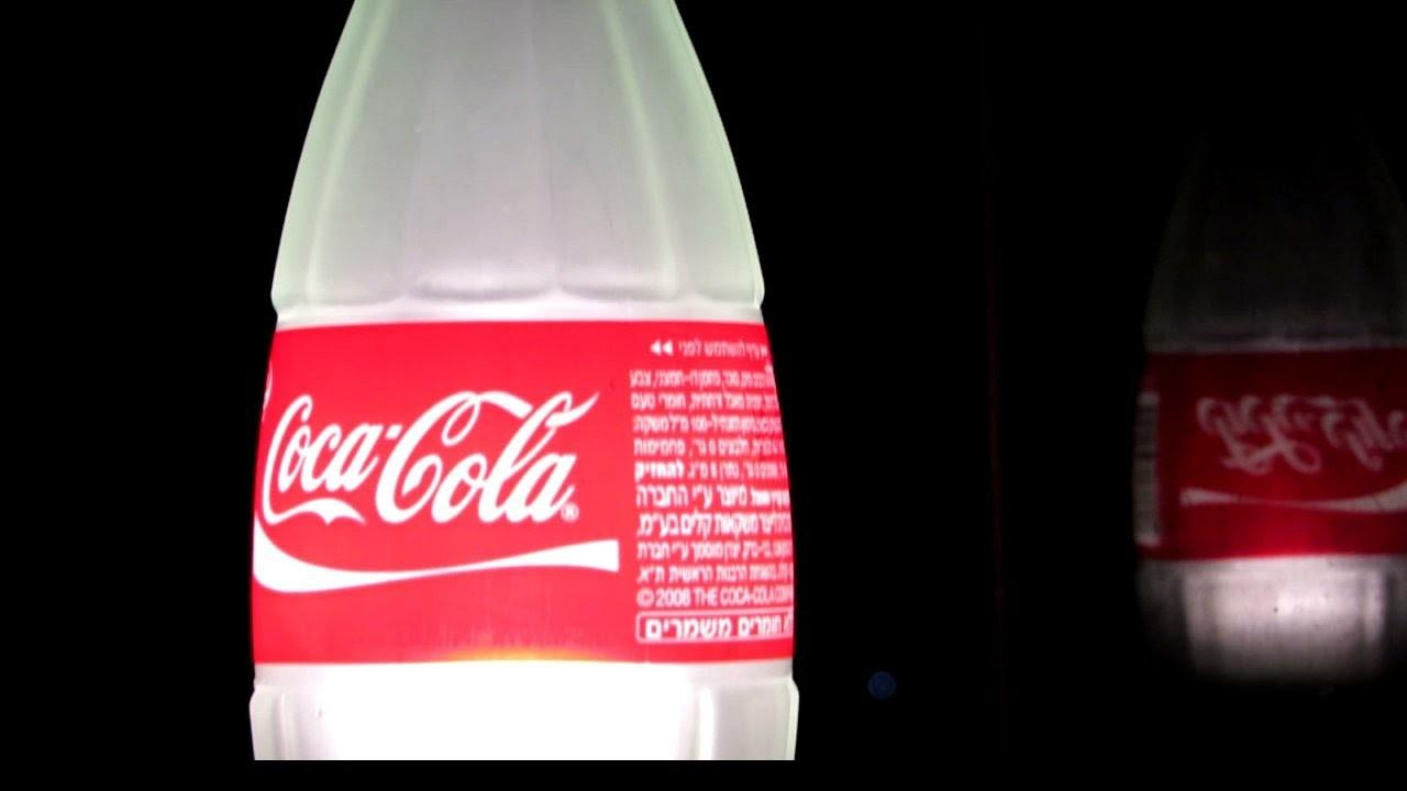 Make Table Lamp Recycled Coca Cola Glass