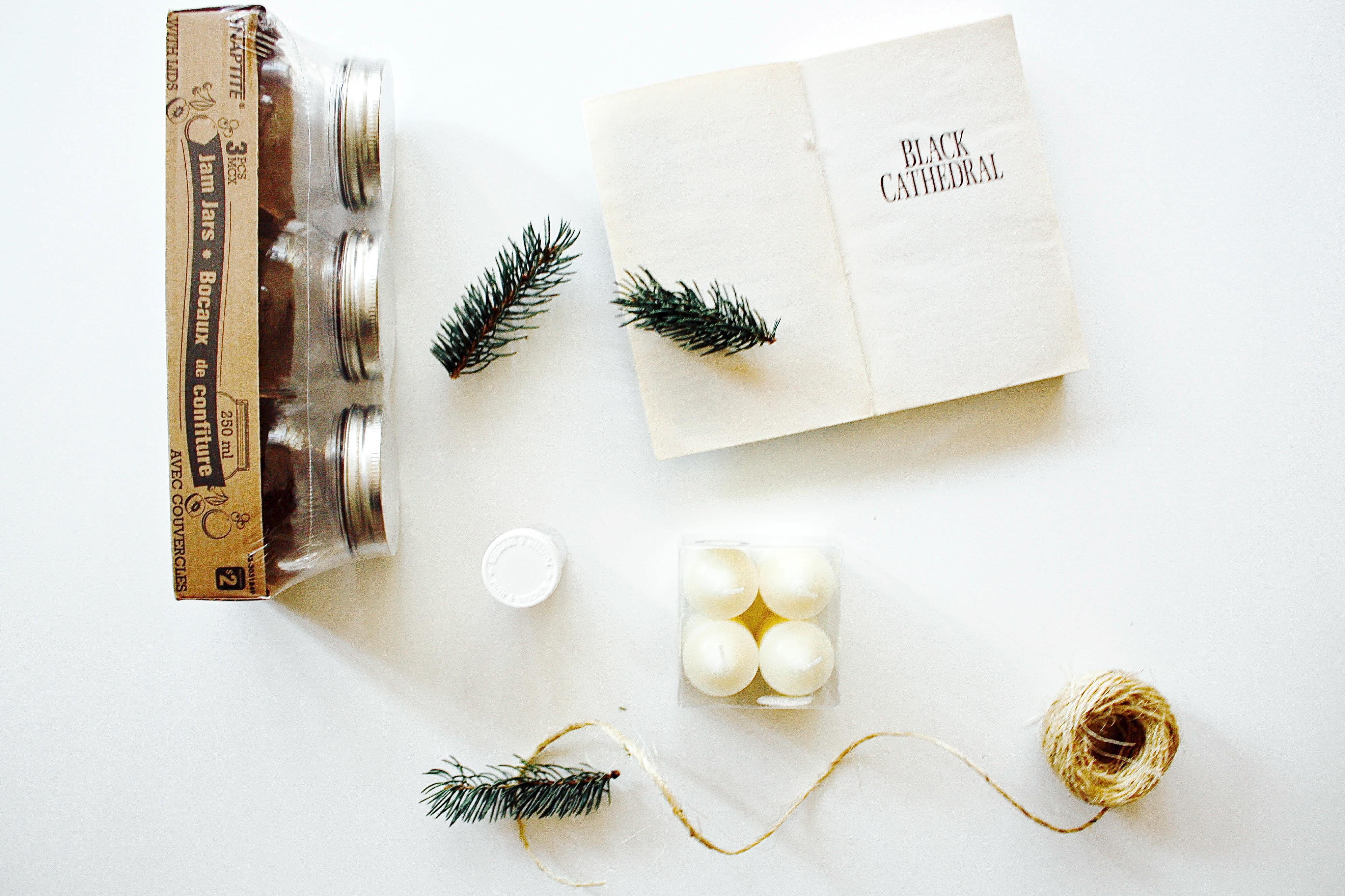 Make These Rustic Christmas Candles Hello Scarlett Blog