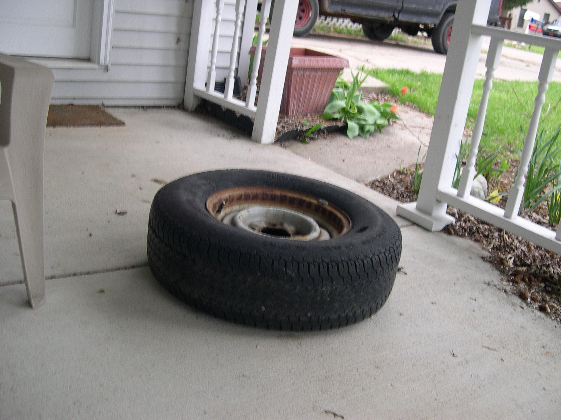 Make Tire Planter