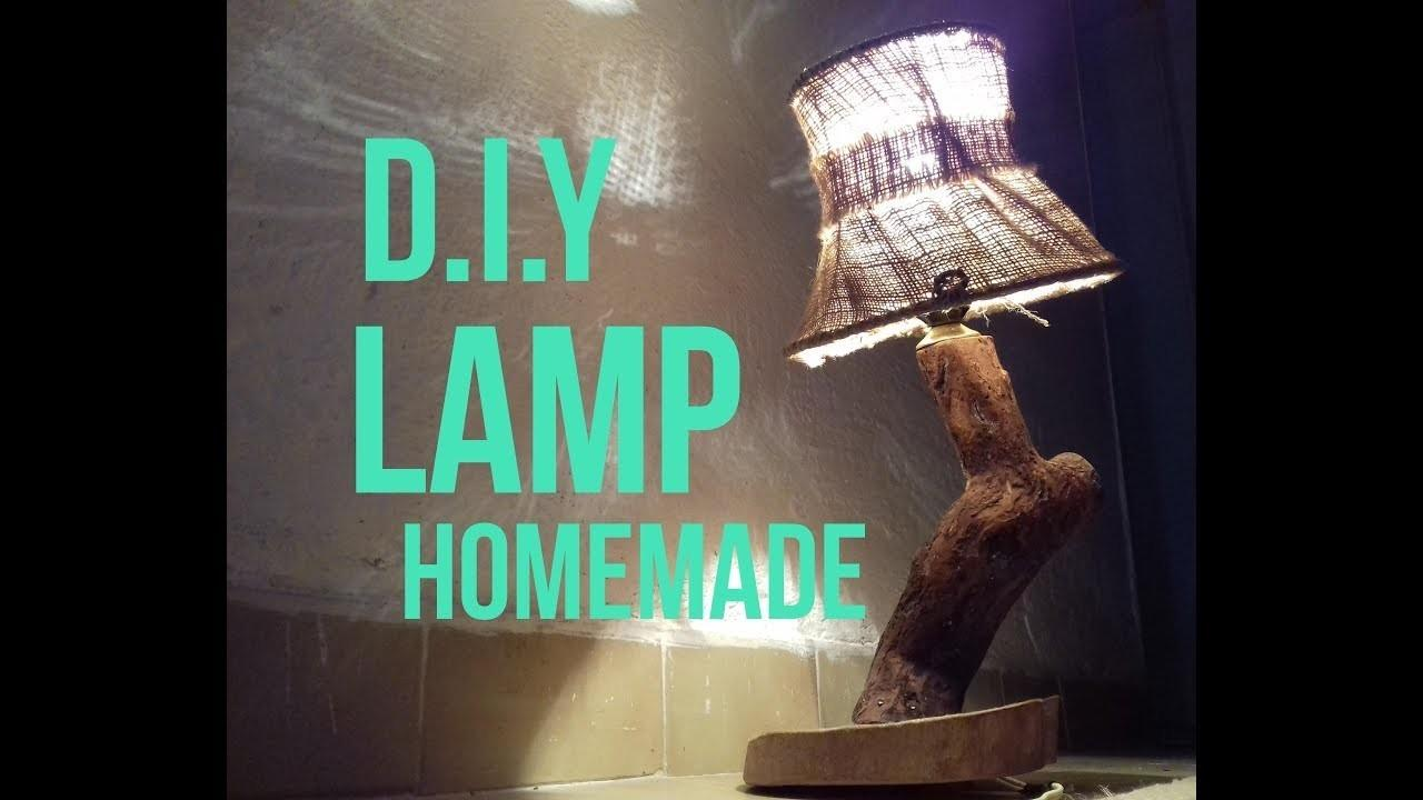 Make Tree Lamp Super Idea Homemade