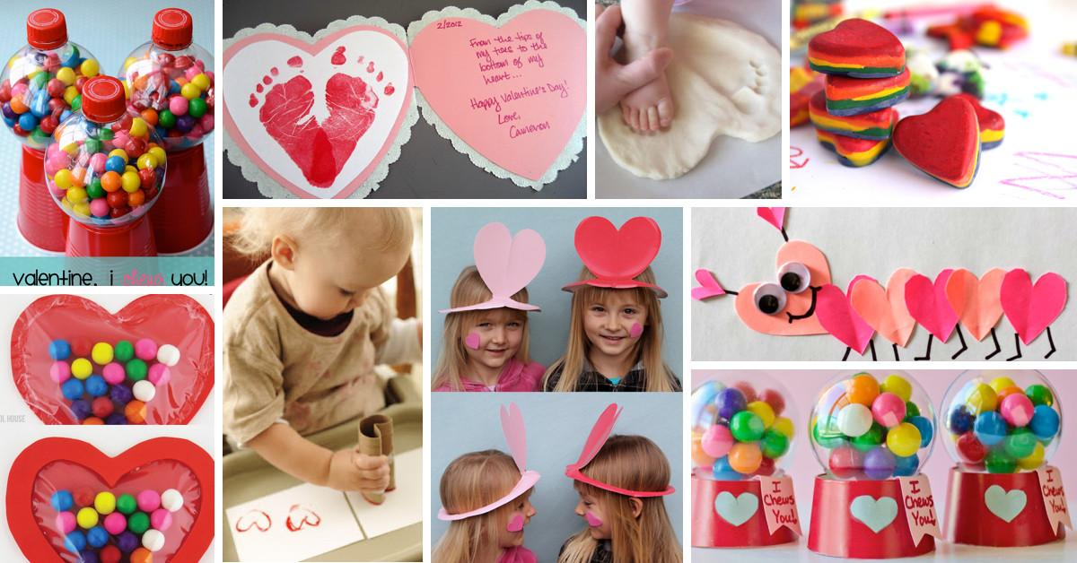 Make Valentine Day More Colorful These Craft Ideas