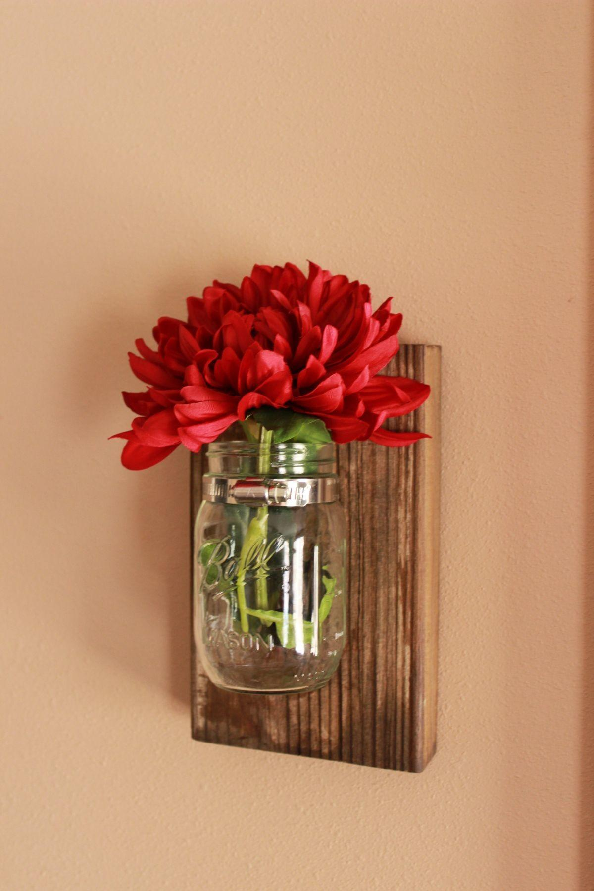 Make Wall Display Using Simple Jar Bottle