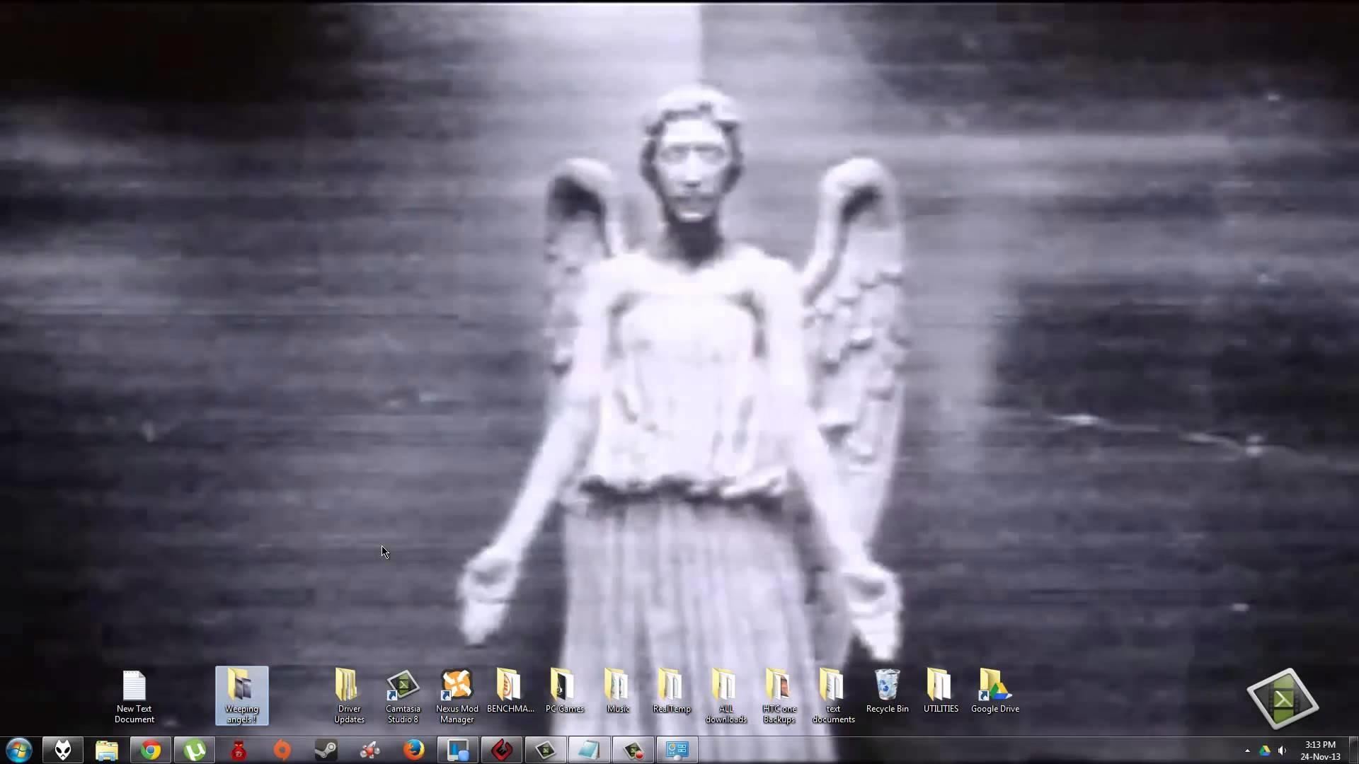 Make Weeping Angels Animated
