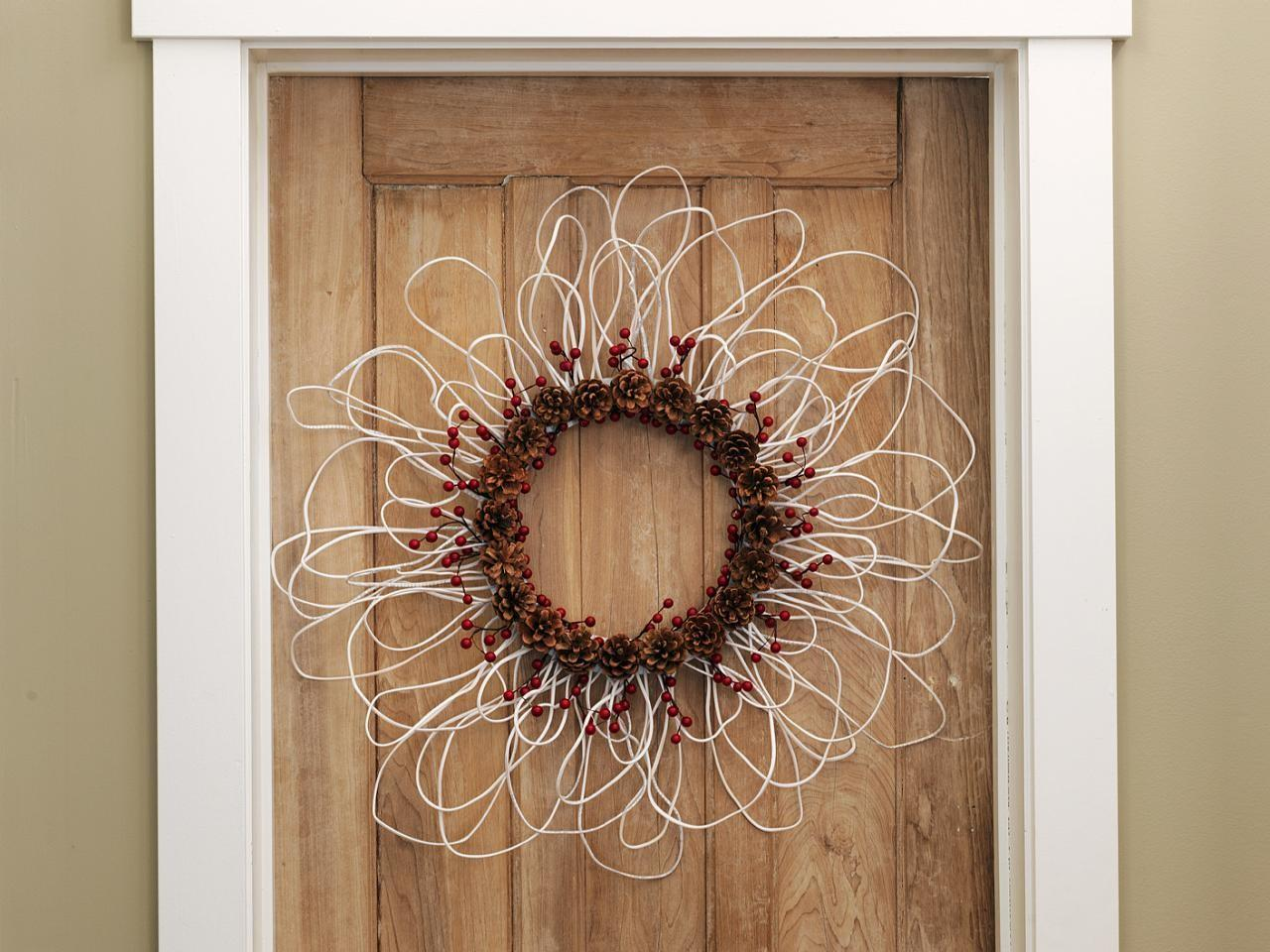 Make Wreath Electrical Wire Berries