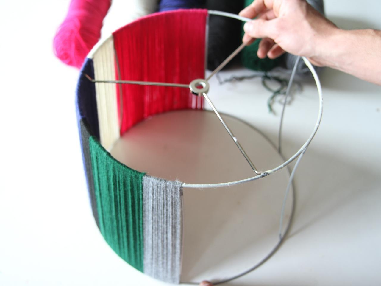 Make Yarn Lampshade Danmade Watch Dan Faires