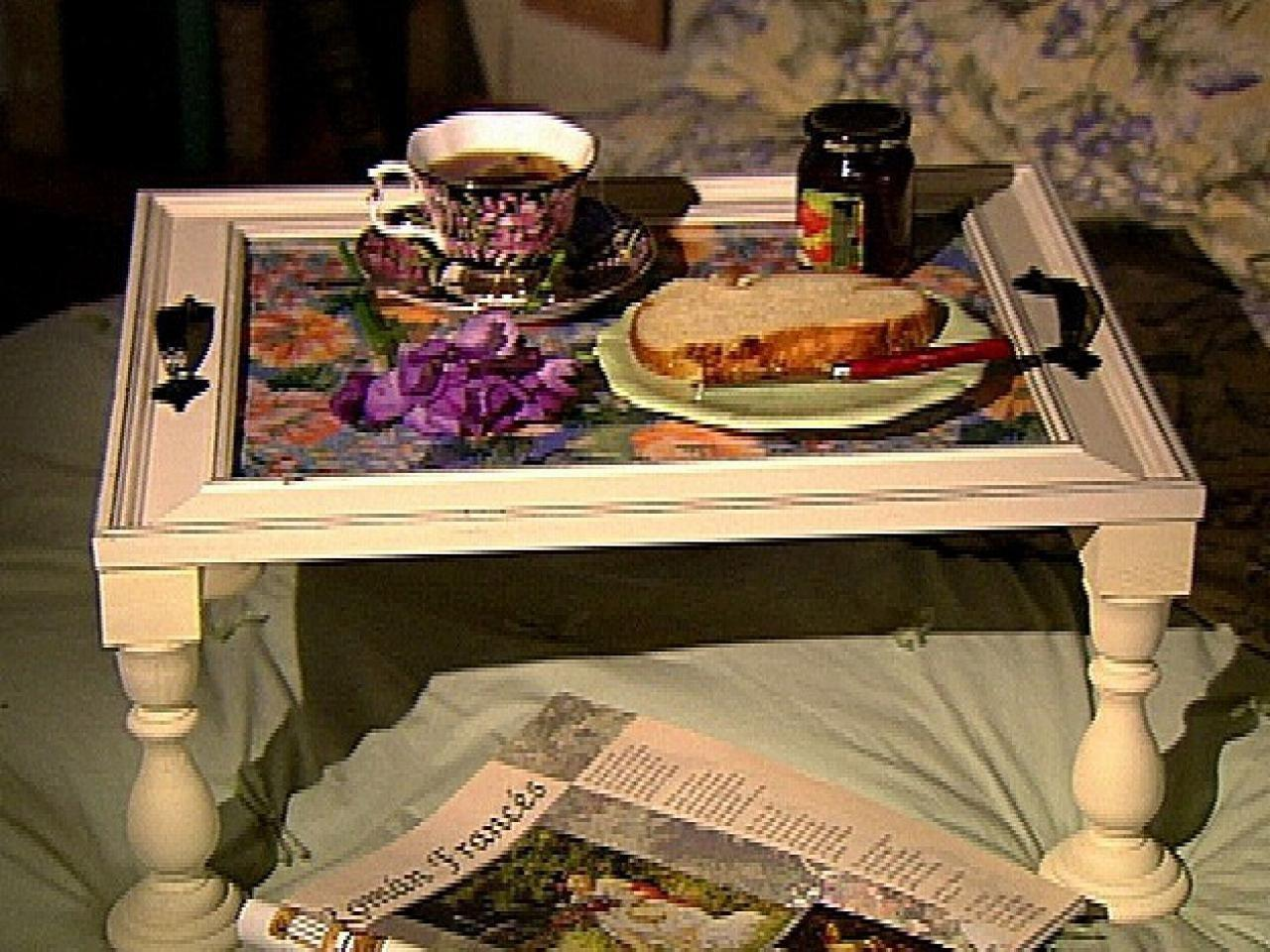 Make Your Own Bed Tray