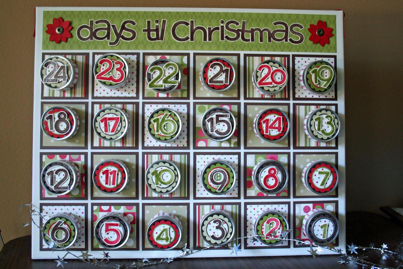 Make Your Own Beer Advent Calendar Template 2016