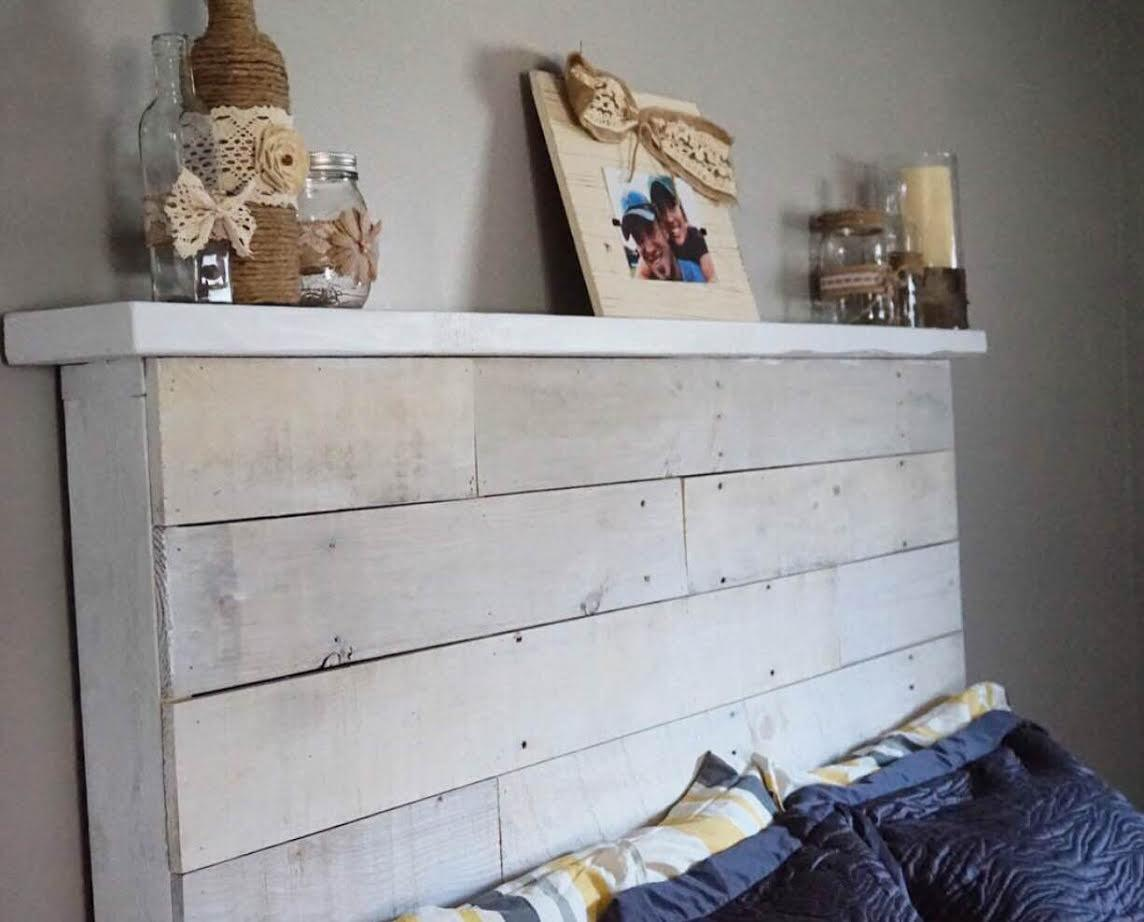 Make Your Own Diy Pallet Headboard