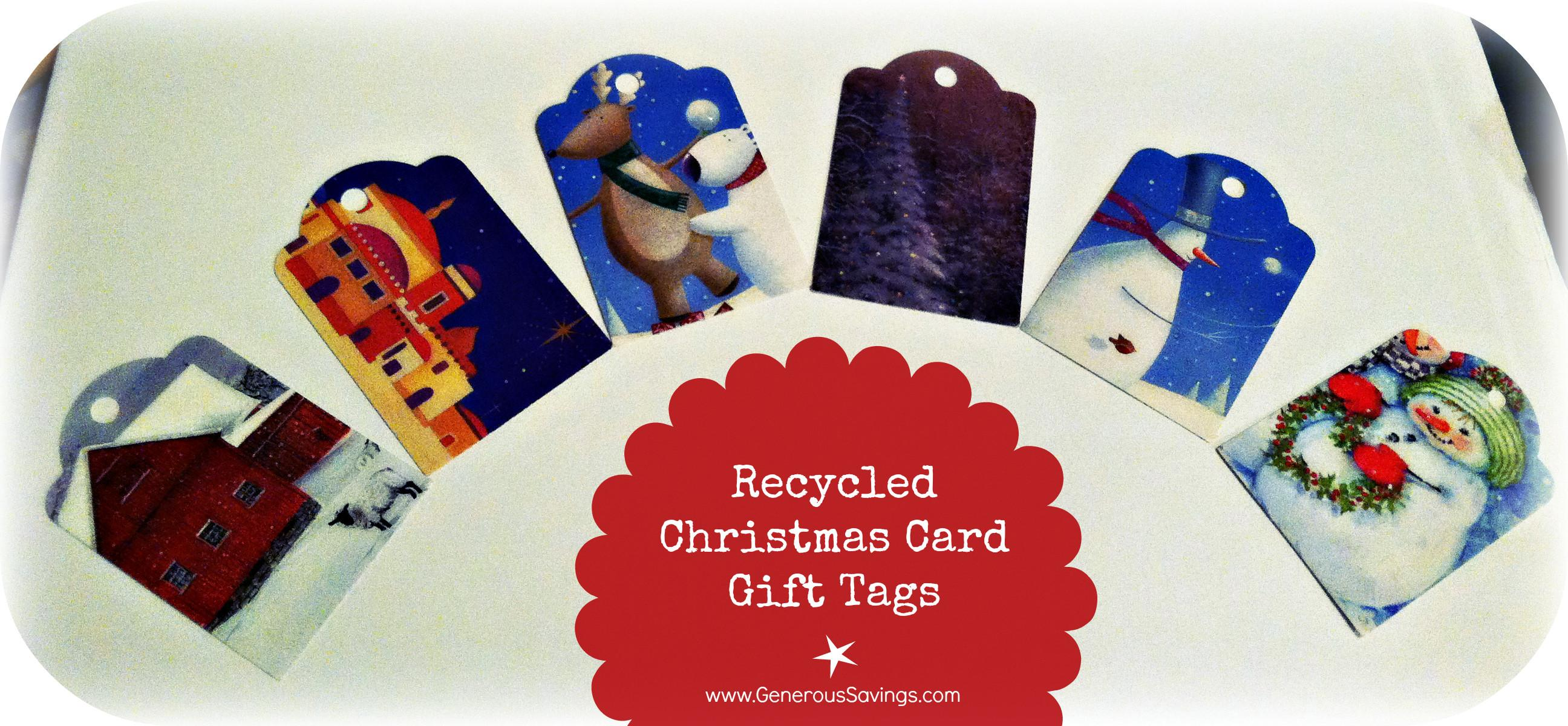 Make Your Own Gift Recycled Cards Generous Savings