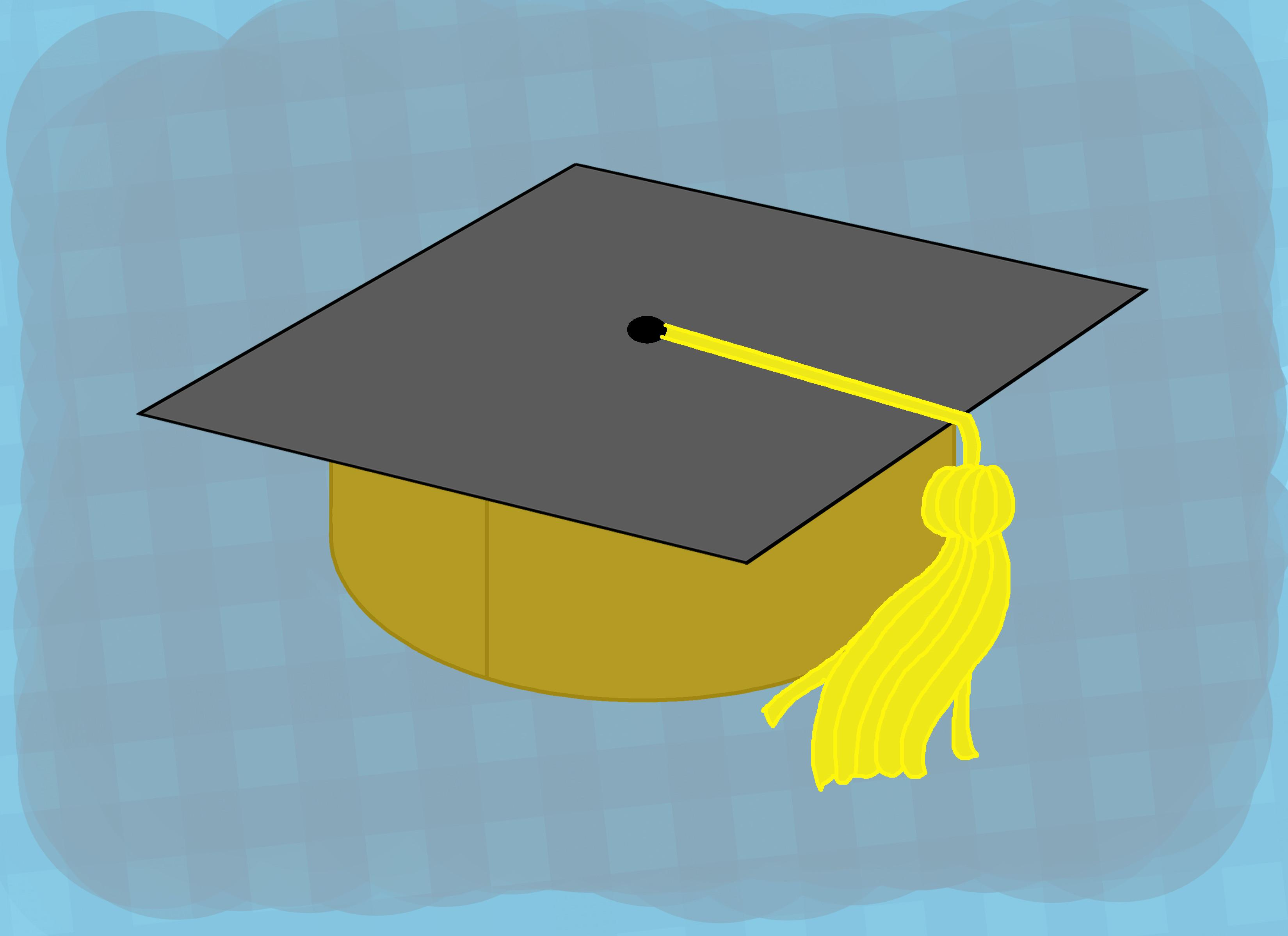 Make Your Own Graduation Hats Steps