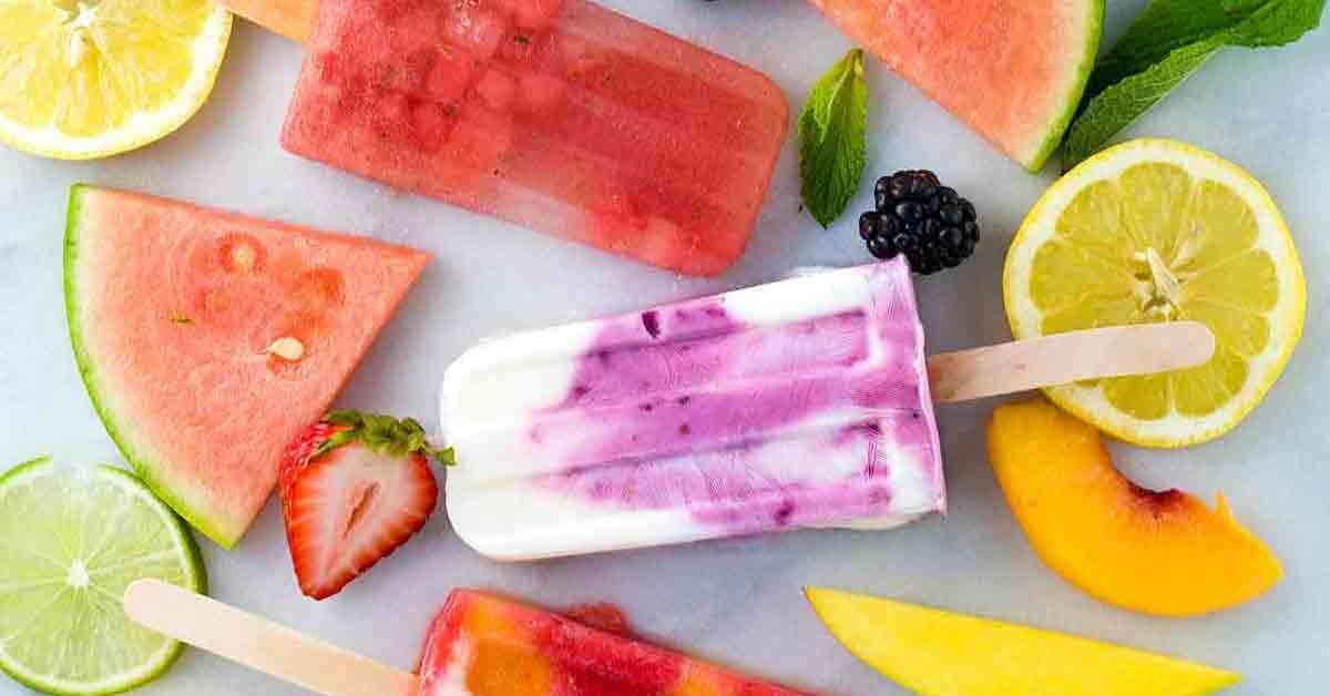 Make Your Own Healthy Homemade Fruit Popsicles Jessica Gavin