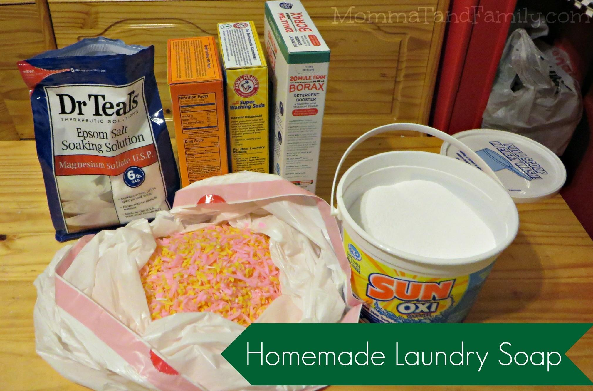 Make Your Own Homemade Laundry Soap Mom Blogs Momma