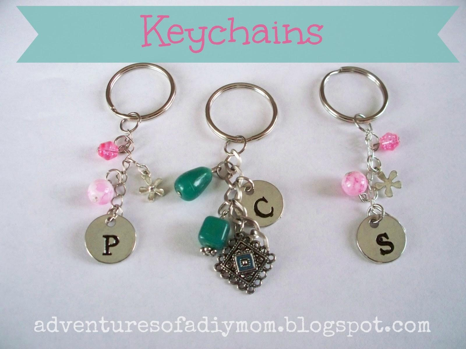 Make Your Own Keychains Adventures Diy Mom
