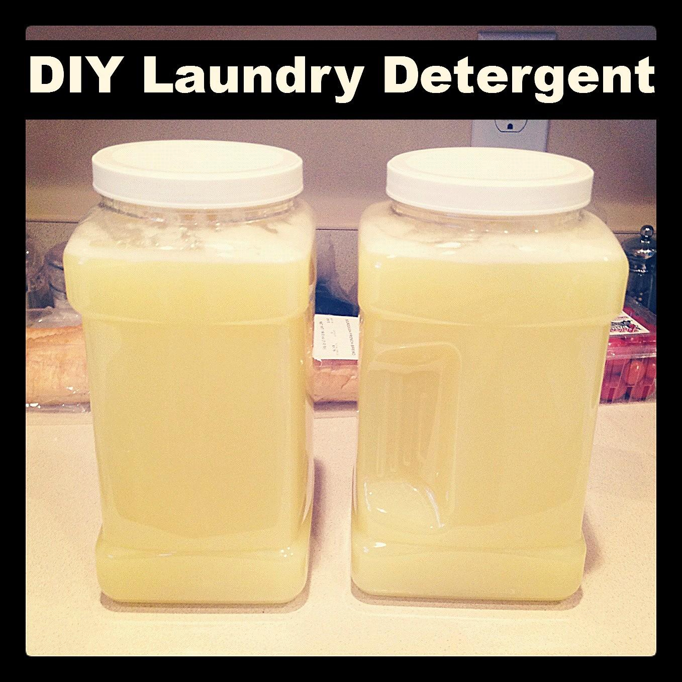 Make Your Own Laundry Detergent Simple