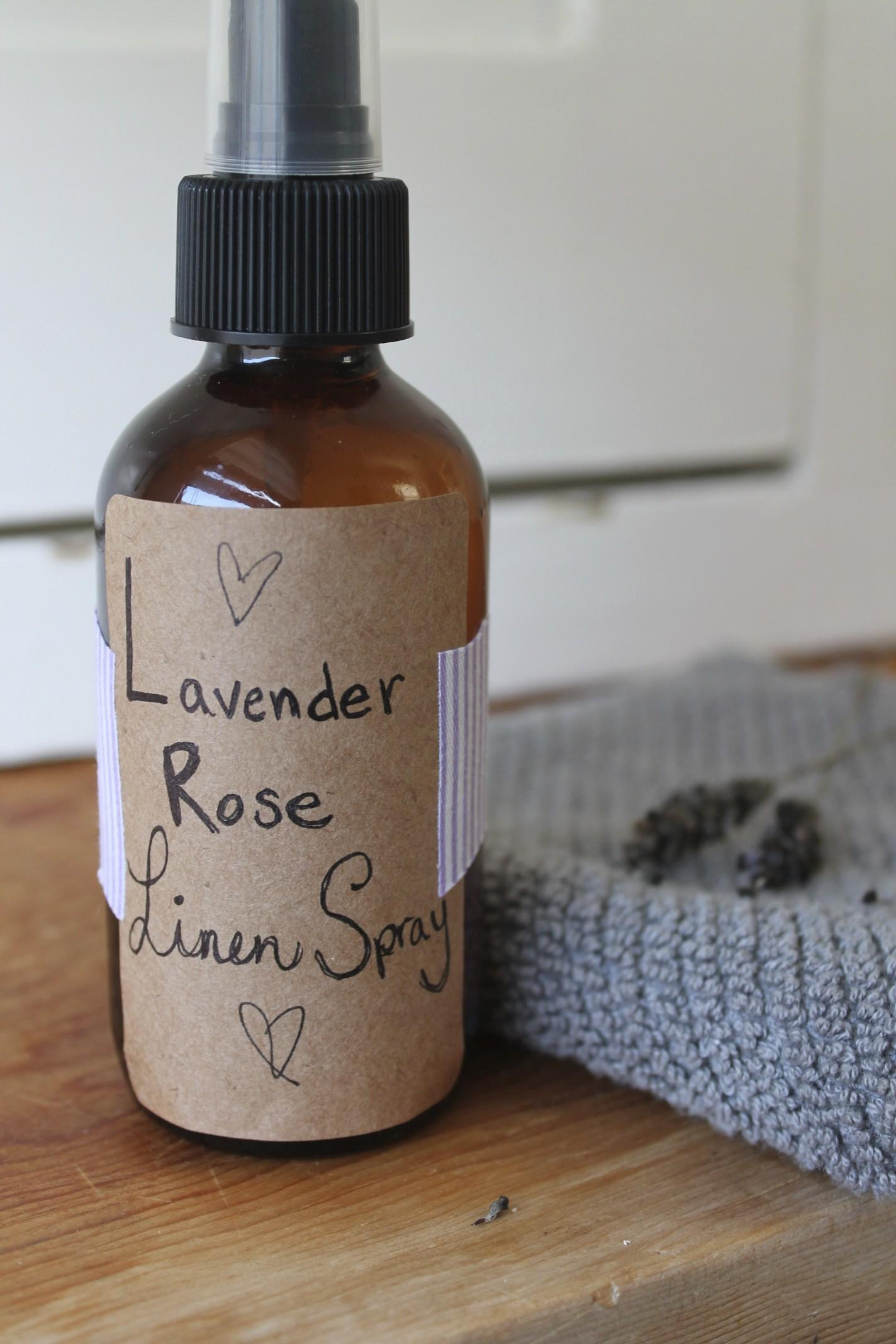 Make Your Own Linen Spray Dabblist