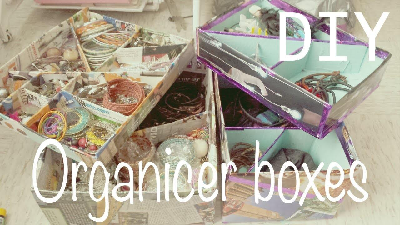 Make Your Own Organizer Boxes Jewelry