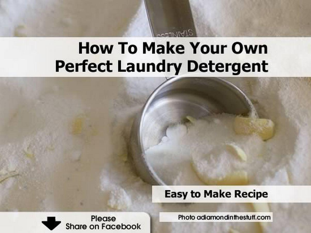 Make Your Own Perfect Laundry Detergent