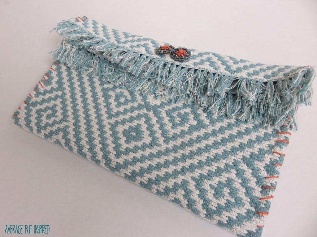 Make Your Own Placemat Clutch Purse