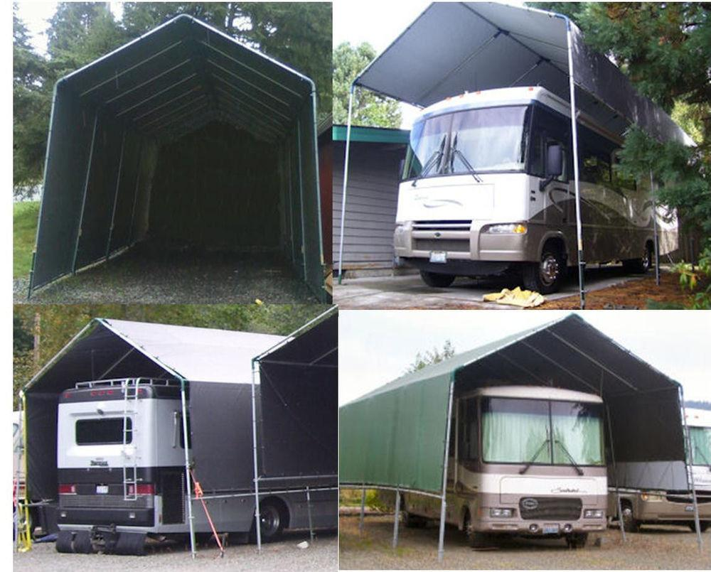 Make Your Own Portable Carport Shelter Motorhome 5th