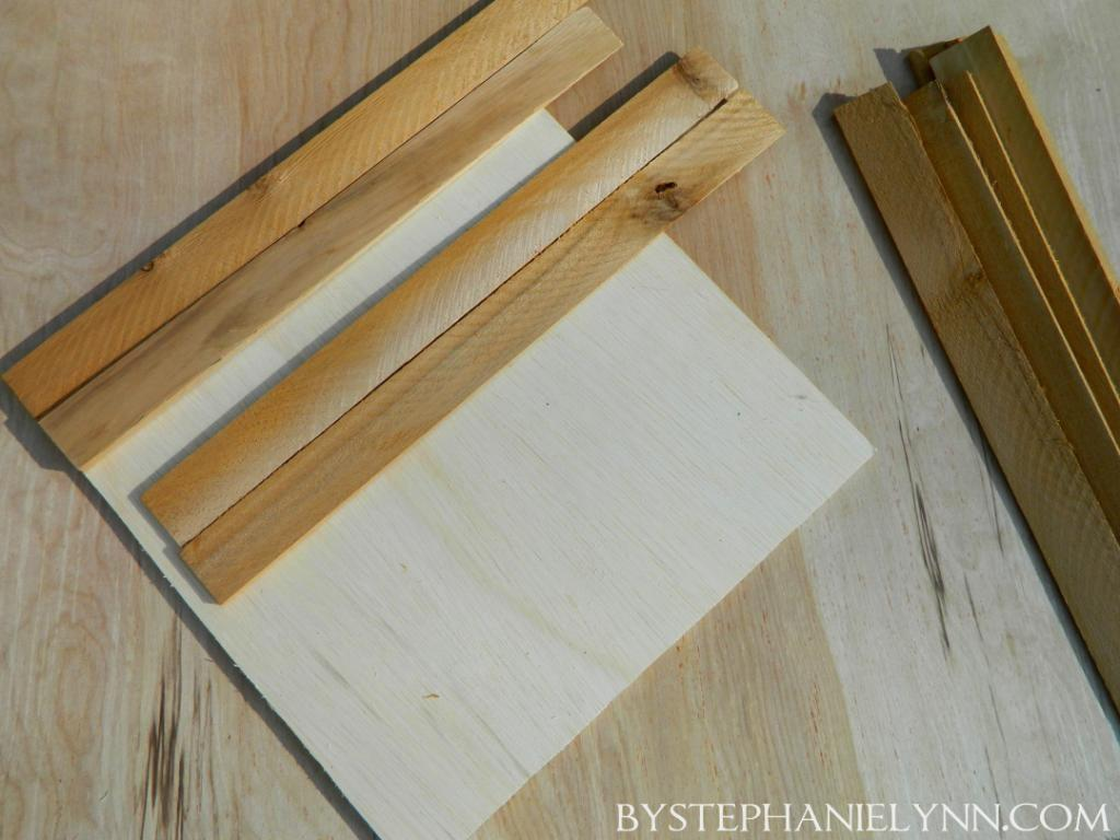 Make Your Own Quick Change Wooden Shim Frame