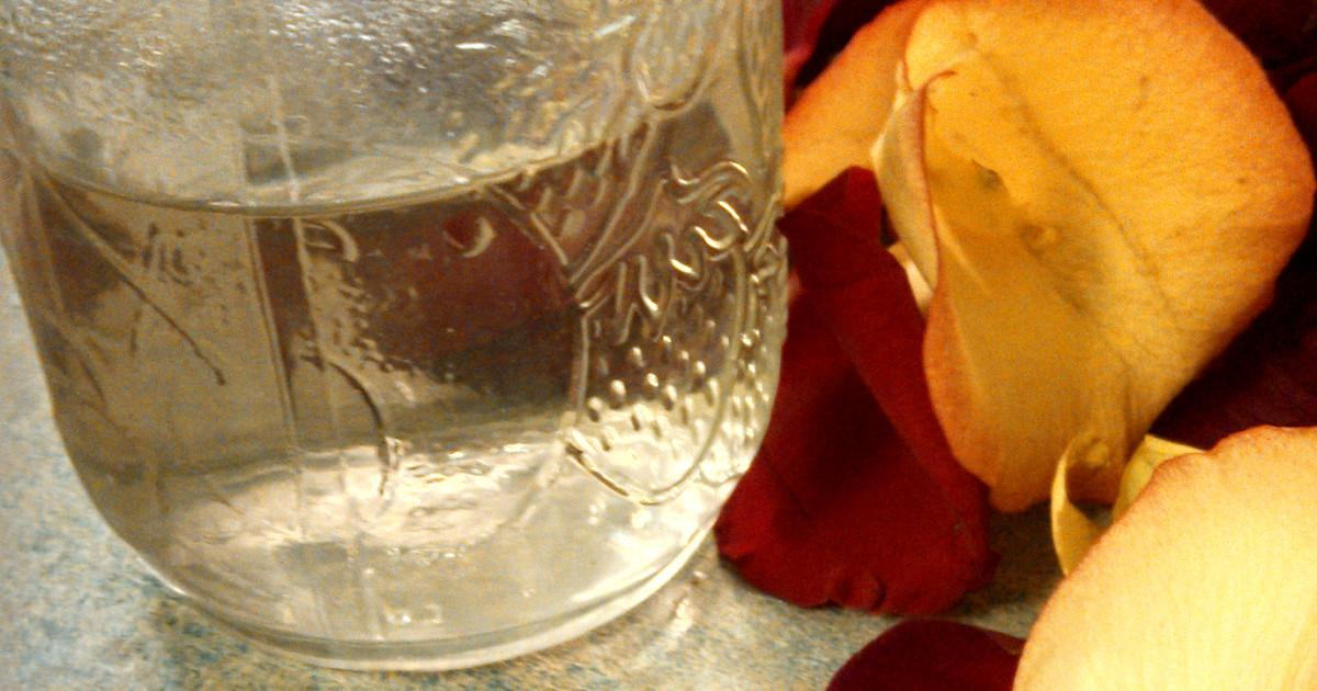Make Your Own Rose Water Wonderfully Messy Mom