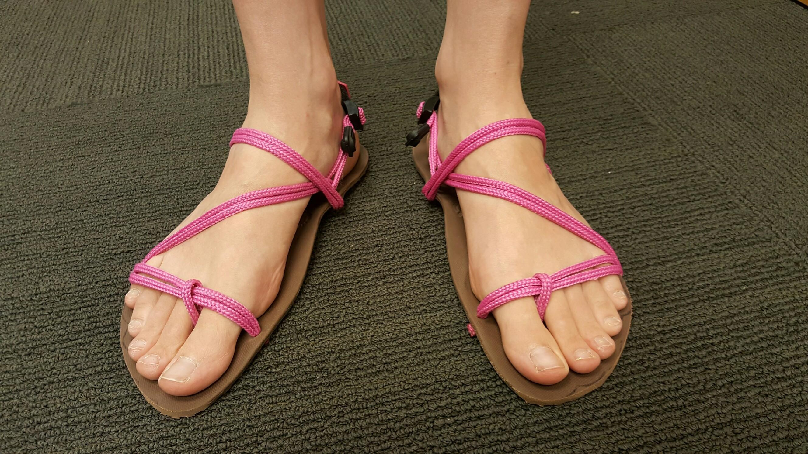 Make Your Own Sandals Janice Style Xero Shoes