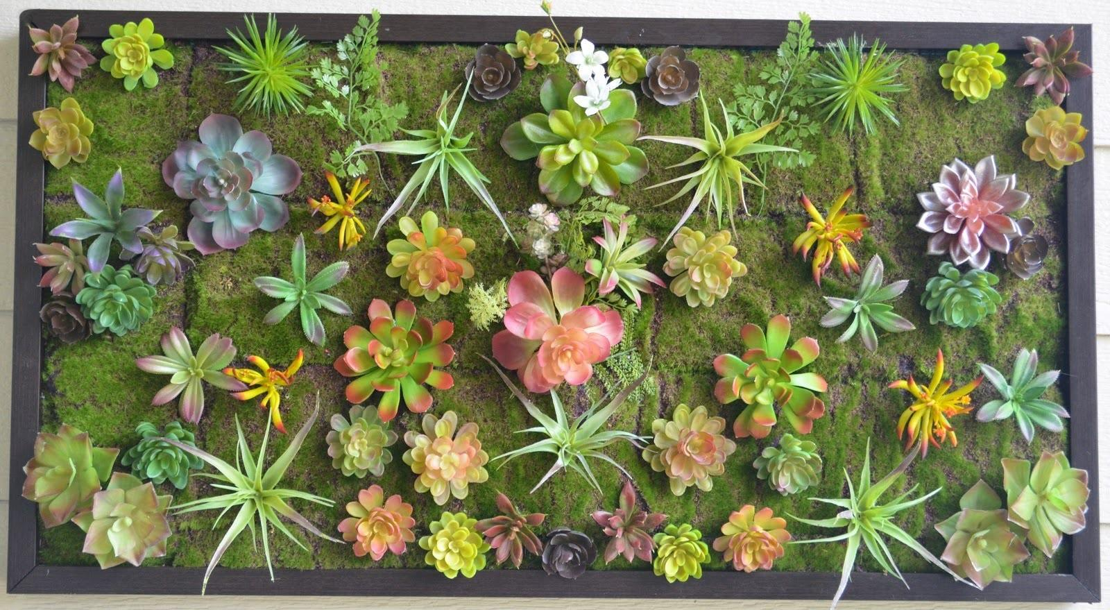Make Your Own Wall Garden Diy