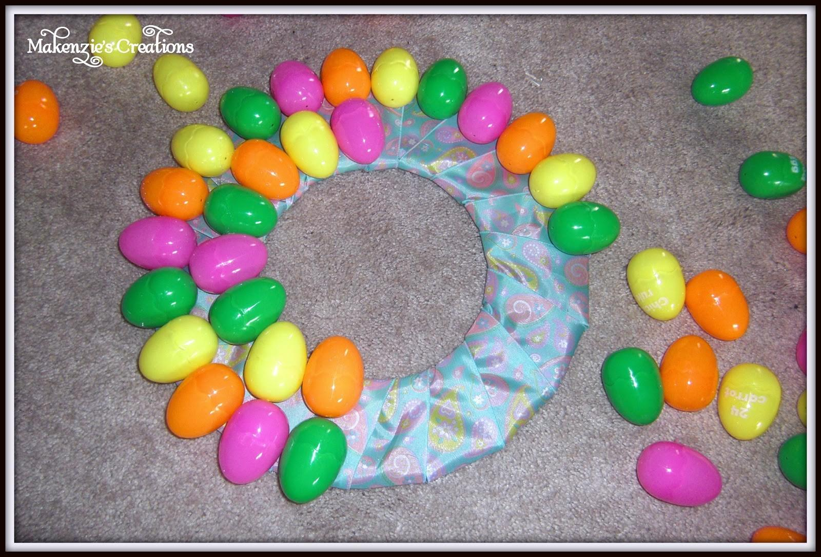 Makenzie Creations Diy Easter Egg Wreath