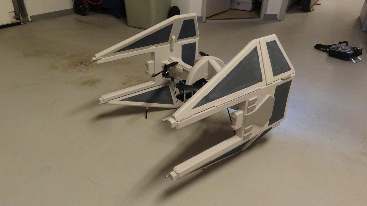 Maker Builds Cool Diy Drones Inspired Star Wars Video