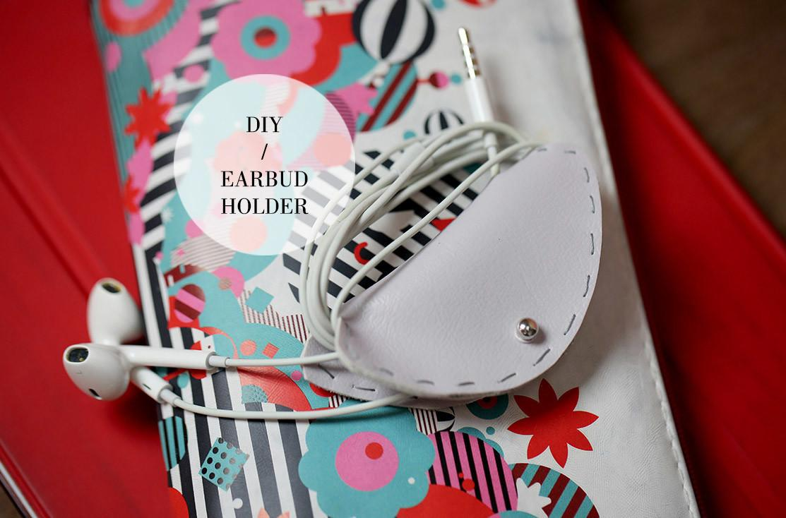Makers Evening Sun Earbud Pouch