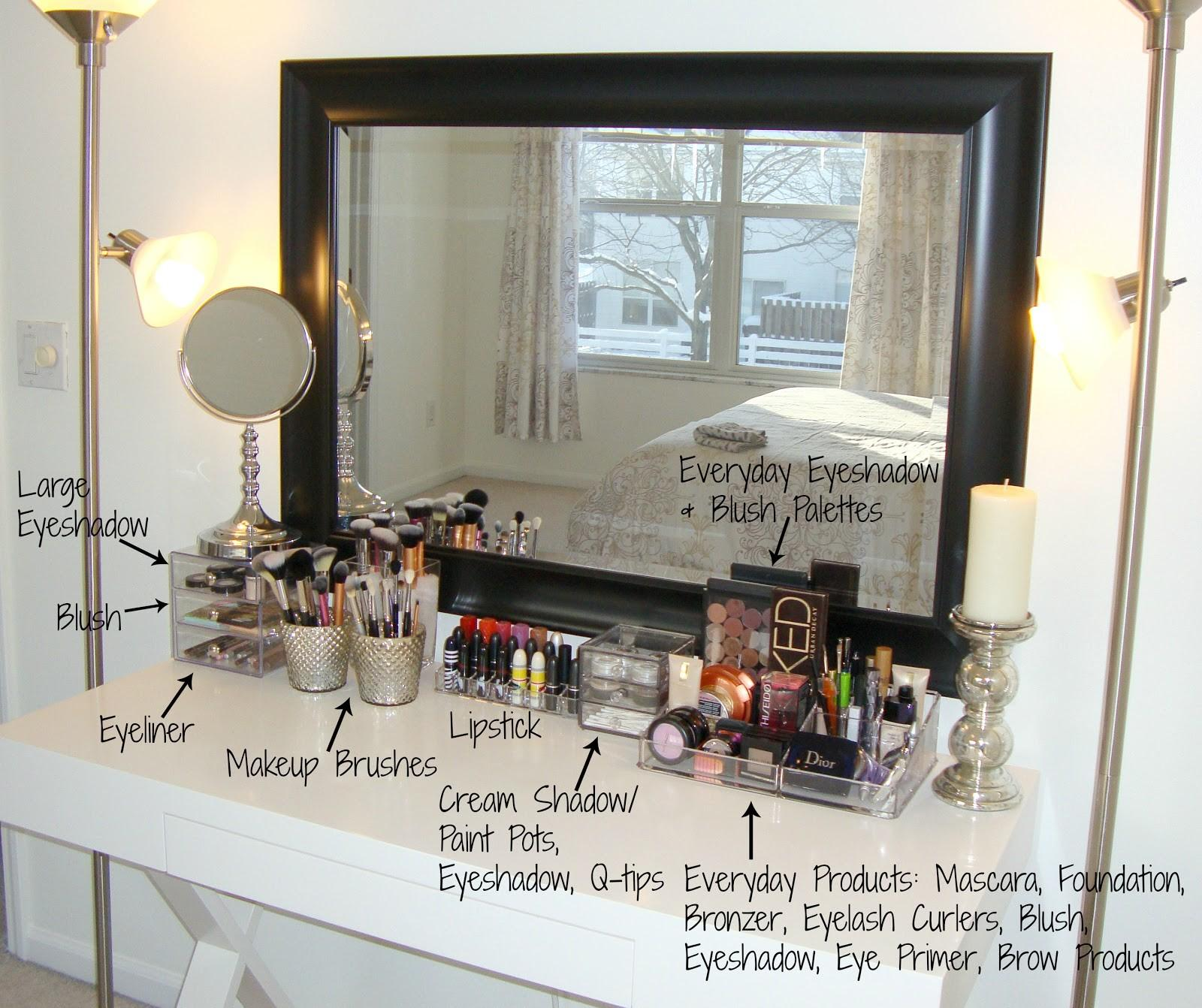 42 Image Of Makeup Storage Ideas That You Can Easily Diy In 2021 With Pictures Decoratorist