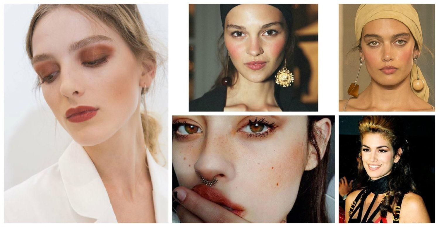 Makeup Trends 2018 Natural Summer Copper Fashion Tag