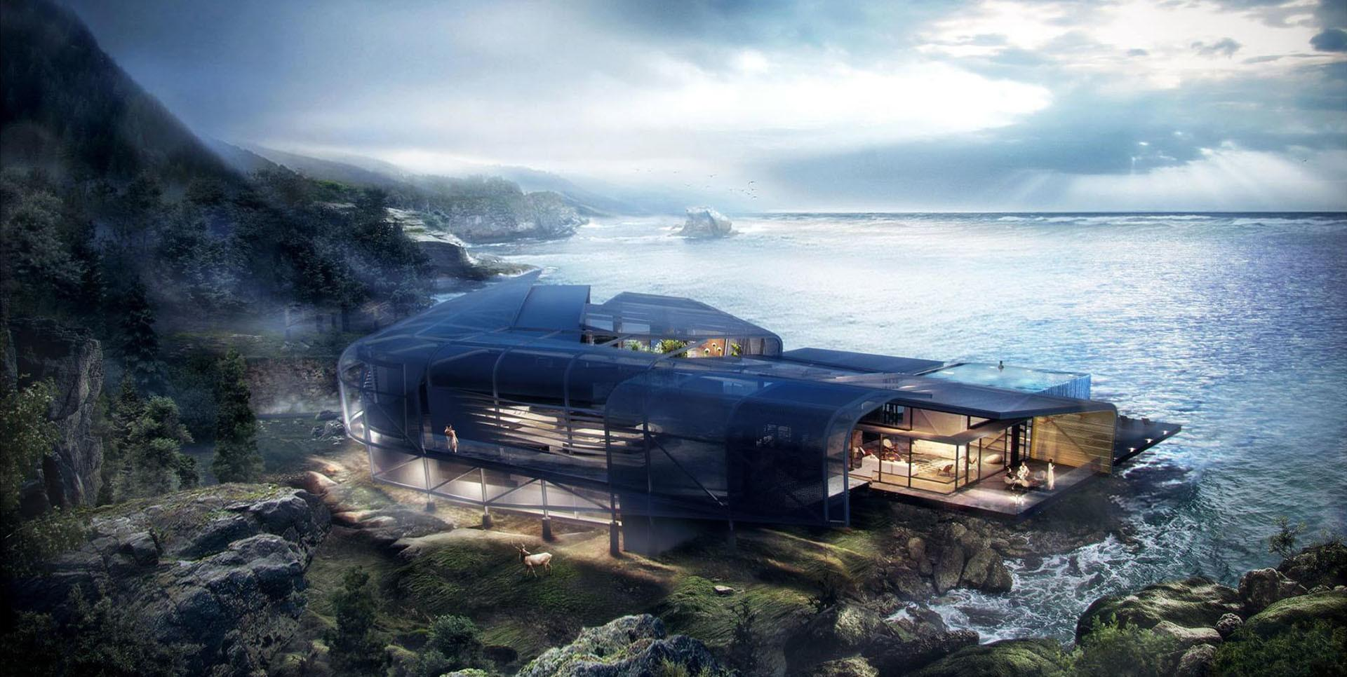 Making Cliff House Architectural Visualization