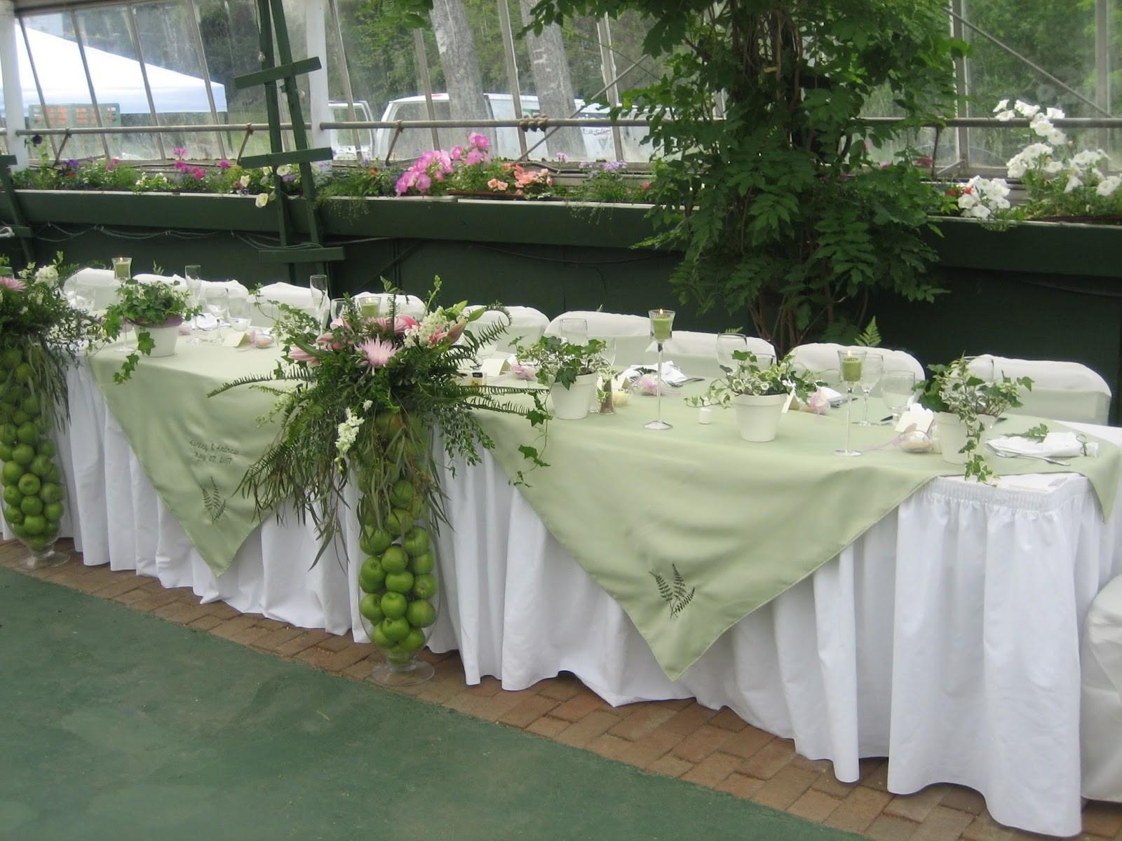 Making Tablecloths Wedding Home Decorations