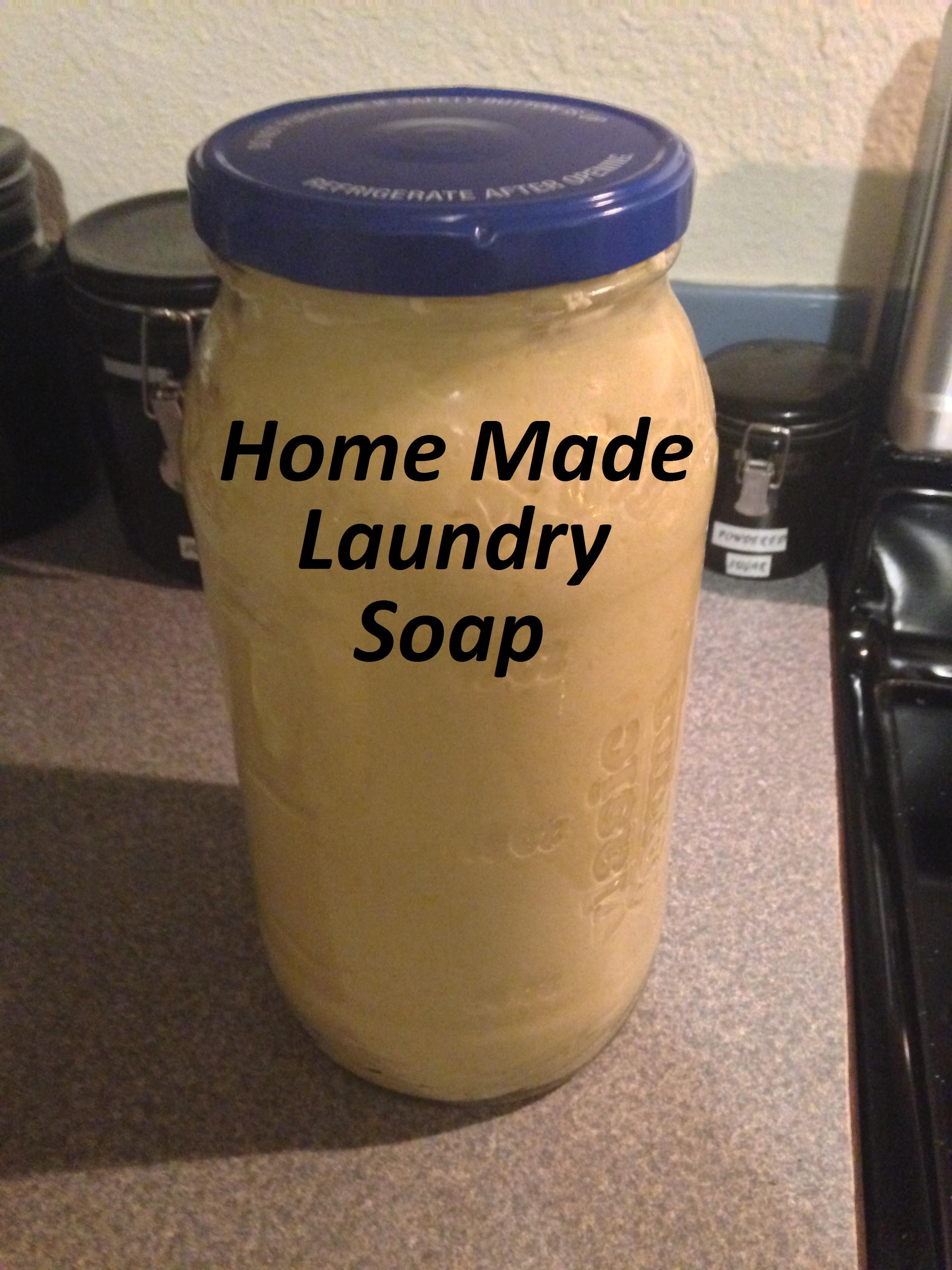 Making Your Own Laundry Soap Moms Simple Life