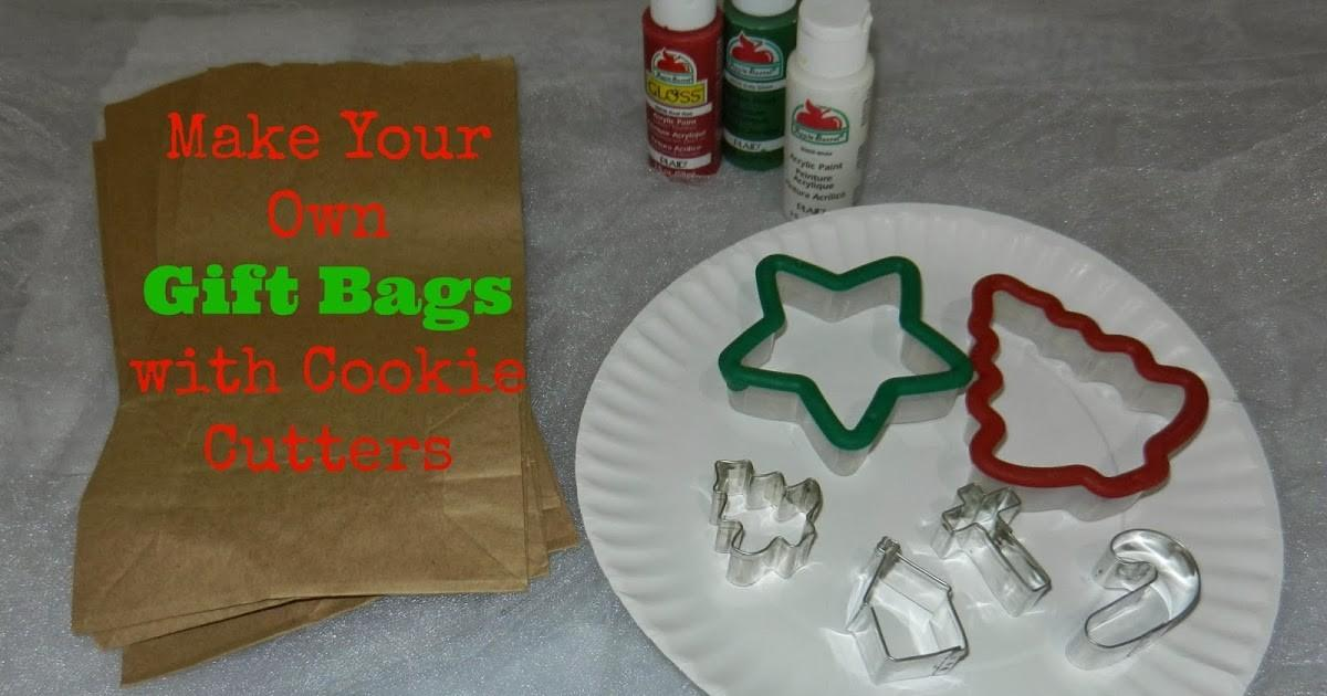 Mama Gets Done Diy Gift Bags Cookie Cutters