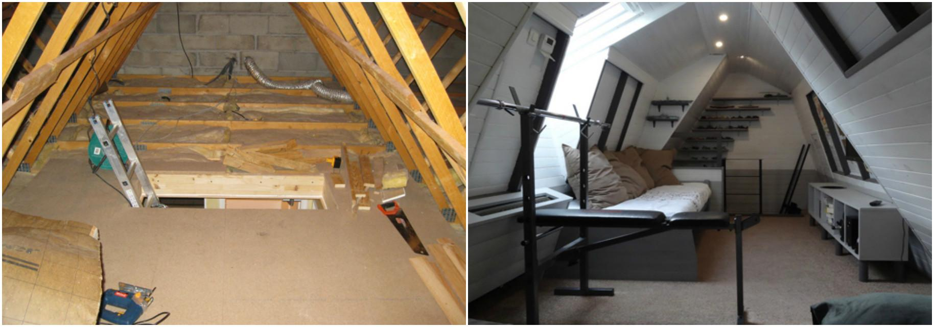 Man Turned His Attic Into Something Absolutely