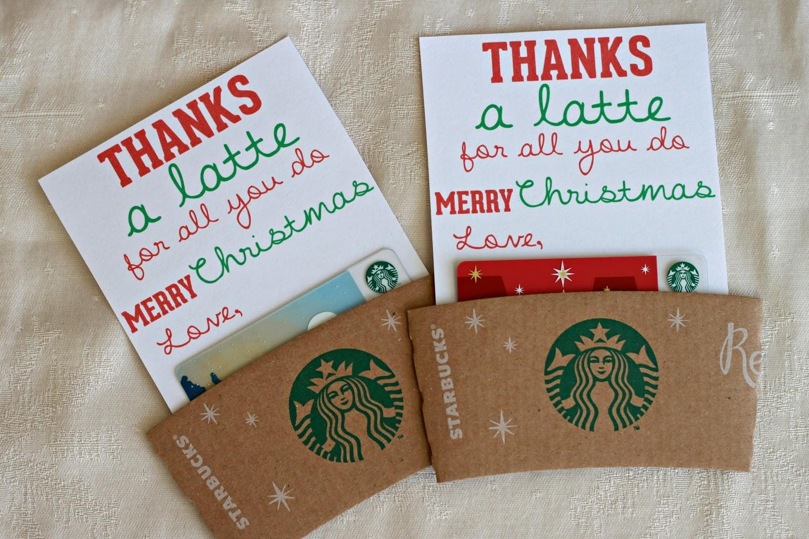 Mandie Starkey Thanks Latte Diy Teacher Christmas Gift