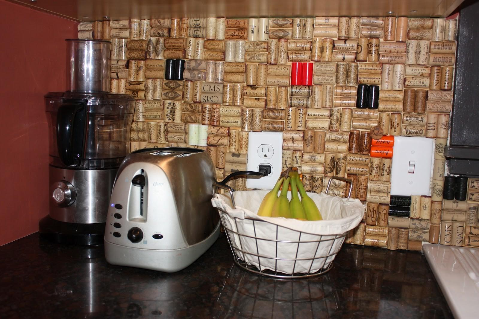 Mandy Minneapoland Wine Cork Backsplash