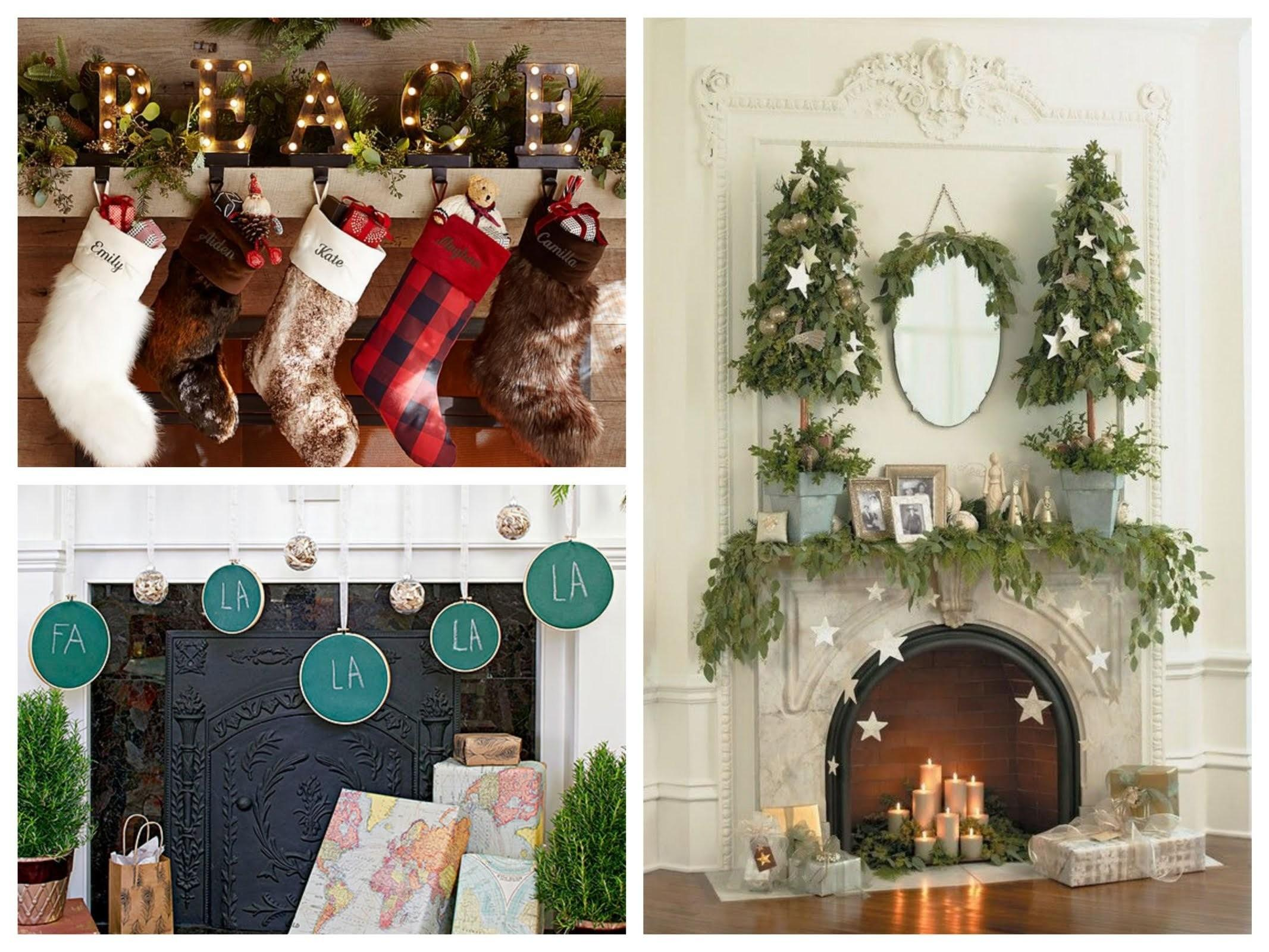 Mantel Christmas Decor 2017 Best Business Template