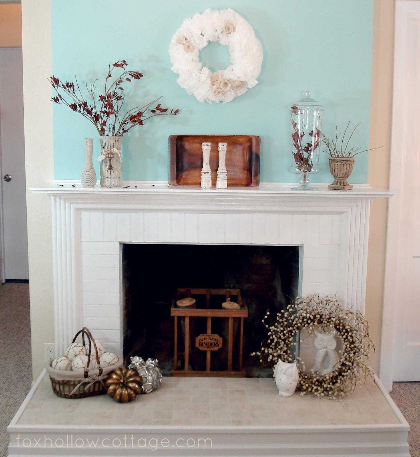 Mantel Decorating Ideas Industrial Home