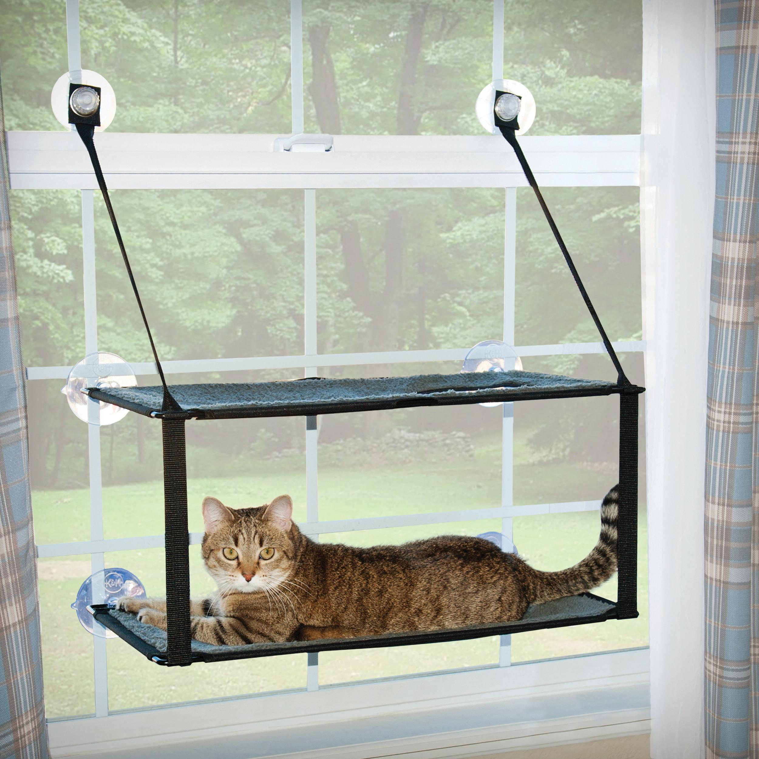Manufacturing Kitty Sill Double Stack Window Mount