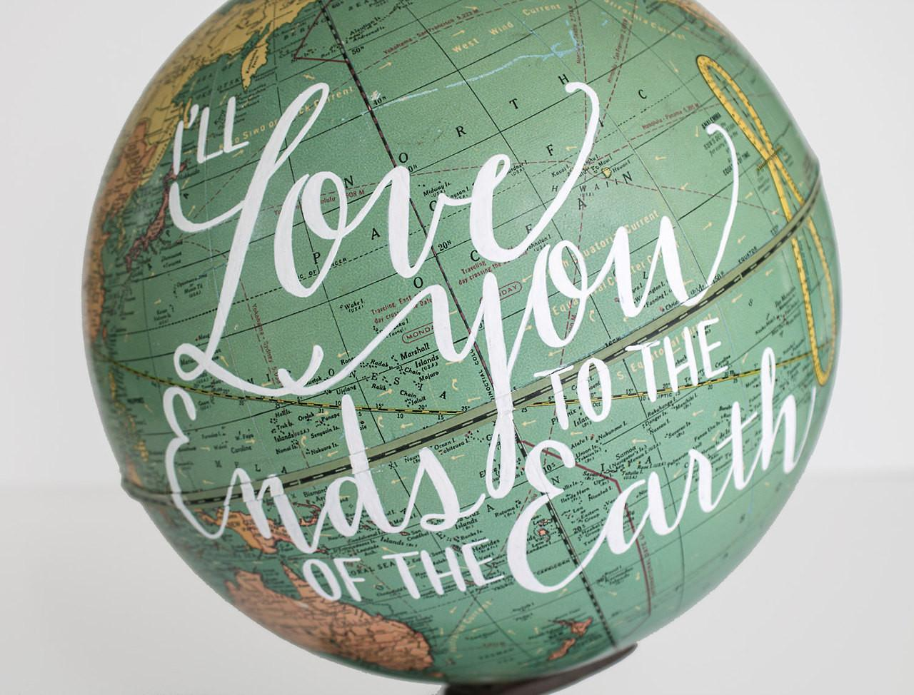 Map Globe Decor Ideas Does She