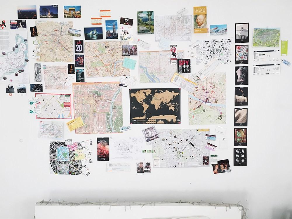 Maps Travel Wall Map