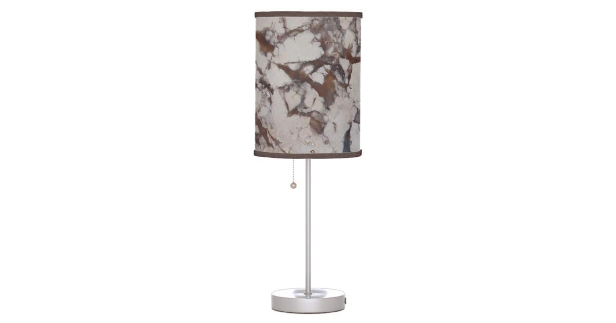 Marble Stone Pattern Table Lamp Zazzle